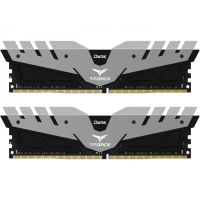 Модуль памяти для компьютера DDR4 16GB (2x8GB) 3200 MHz T-Force Dark Gray Team (TDGED416G3200HC16CDC01)