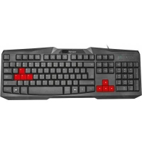 Клавиатура Trust Ziva gaming keyboard UKR (22114)