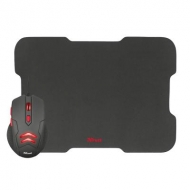Мышка Trust Ziva Gaming mouse with Mouse pad (21963)
