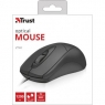 Мышка Trust Ziva Optical mouse Black USB (21947)