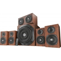 Акустическая система Trust Vigor 5.1 Surround Speaker System Brown (21786)