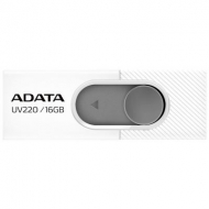 USB флеш накопитель ADATA 16GB UV220 White/Gray USB 2.0 (AUV220-16G-RWHGY)