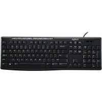 Клавиатура Logitech K200 Media Keyboard RU (920-008814)