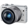 Цифровой фотоаппарат Canon EOS M100 15-45 IS STM Kit White (2210C048)