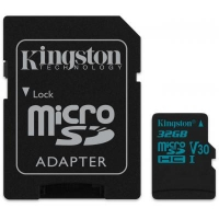 Карта памяти Kingston 32GB microSDHC class 10 UHS-I U3 Canvas Go (SDCG2/32GB)