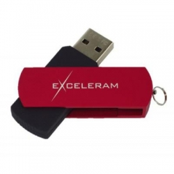 USB флеш накопитель eXceleram 32GB P2 Series Red/Black USB 3.1 Gen 1 (EXP2U3REB32)