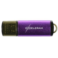USB флеш накопитель eXceleram 16GB A3 Series Purple USB 2.0 (EXA3U2PU16)