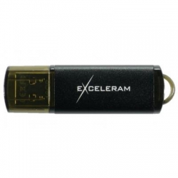 USB флеш накопитель eXceleram 8GB A3 Series Black USB 2.0 (EXA3U2B08)