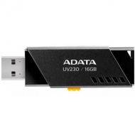 USB флеш накопитель ADATA 16GB UV230 Black USB 2.0 (AUV230-16G-RBK)