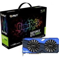 Видеокарта PALIT GeForce GTX1080 Ti 11Gb GameRock (NEB108TT15LC-1020G)