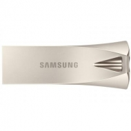 USB флеш накопитель Samsung 64GB Bar Plus Silver USB 3.1 (MUF-64BE3/APC)