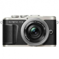 Цифровой фотоаппарат OLYMPUS E-PL9 14-42 mm Pancake Zoom Kit black/silver (V205092BE000)