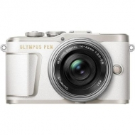 Цифровой фотоаппарат OLYMPUS E-PL9 14-42 mm Pancake Zoom Kit white/silver (V205092WE000)