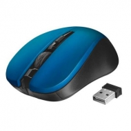 Мышка Trust Mydo Silent wireless mouse blue (21870)