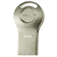 USB флеш накопитель PNY flash 64GB Attache i Durable Metal Silver USB 2.0 (FDI64GATTI-EF)