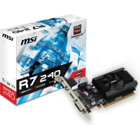 Видеокарта Radeon R5 240 1024Mb MSI (R7 240 1GD3 64b LP)