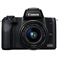 Цифровой фотоаппарат Canon EOS M50 15-45 IS STM Kit black (2680C060)
