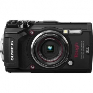Цифровой фотоаппарат OLYMPUS TG-5 Black (Waterproof - 15m; GPS; 4K; Wi-Fi) + case (V104190BE030)
