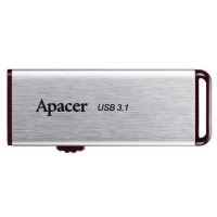 USB флеш накопитель Apacer 16GB AH35A Silver USB 3.1 Gen1 (AP16GAH35AS-1)
