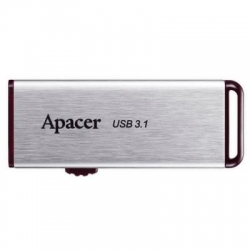 USB флеш накопитель Apacer 64GB AH35A Silver USB 3.1 Gen1 (AP64GAH35AS-1)