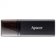 USB флеш накопитель Apacer 16GB AH23B Black USB 2.0 (AP16GAH23BB-1)