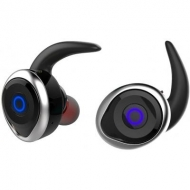 Наушники AWEI T1 Twins Earphones Black-Silver (F_53637)