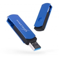 USB флеш накопитель eXceleram 128GB P2 Series Blue/Black USB 3.1 Gen 1 (EXP2U3BLB128)