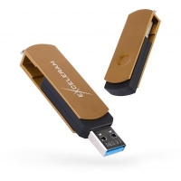 USB флеш накопитель eXceleram 128GB P2 Series Brown/Black USB 3.1 Gen 1 (EXP2U3BRB128)