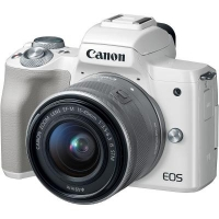 Цифровой фотоаппарат Canon EOS M50 15-45 IS STM Kit White (2681C057)