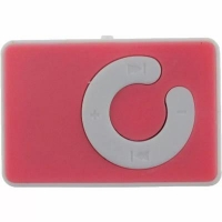 mp3 плеер TOTO Without display&Earphone Mp3 Plastic Pink (TPS-04-Pink)