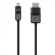Кабель мультимедийный mini DisplayPort to HDMI 1.8 m Belkin (F2CD080bt06)
