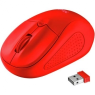 Мышка Trust Primo Wireless matte Red (22138)
