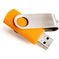USB флеш накопитель GOODRAM 16GB UTS3 Twister Orange USB 2.0 (UTS2-0160O0BLB)