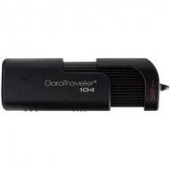 USB флеш накопитель Kingston 32GB DataTraveller 104 Black USB 2.0 (DT104/32GB)