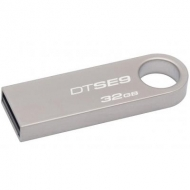 USB флеш накопитель Kingston 32GB DTSE9 Metal USB 2.0 (DTSE9H/32GBZ)