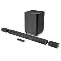 Акустическая система JBL Bar 5.1 Channel 4K Ultra HD Soundbar with True Wireless (JBLBAR51BLK)
