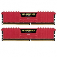 Модуль памяти для компьютера DDR4 32GB (2x16GB) 2666 MHz Vengeance LPX Red CORSAIR (CMK32GX4M2A2666C16R)