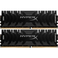 Модуль памяти для компьютера DDR4 16GB (2x8GB) 3600 MHz HyperX Predator Black Kingston (HX436C17PB4K2/16)