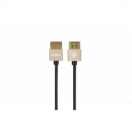 Кабель мультимедийный HDMI to HDMI 1.0m Gen2 Ultra Slim cable 2E (2E-W9668G-1M)