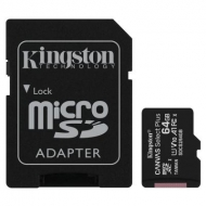 Карта памяти Kingston 64GB micSDXC class 10 A1 Canvas Select Plus (SDCS2/64GB)