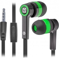 Наушники Defender Pulse 420 Green (63422)