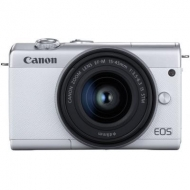Цифровой фотоаппарат Canon EOS M200 + 15-45 IS STM White (3700C032)