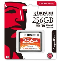 Карта памяти Kingston 256GB Compact Flash Canvas (CFF/256GB)