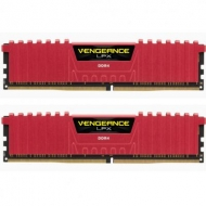 Модуль памяти для компьютера DDR4 32GB (2x16GB) 2400 MHz Vengeance LPX Red CORSAIR (CMK32GX4M2A2400C14R)