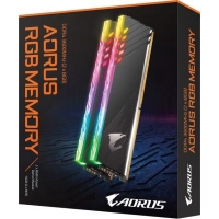Модуль памяти для компьютера DDR4 16GB (2x8GB) 3600 MHz RGB Fusion with Demo Kit GIGABYTE (GP-AR36C18S8K2HU416RD)