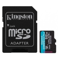 Карта памяти Kingston 512GB microSDXC class 10 UHS-I U3 A2 Canvas Go Plus (SDCG3/512GB)