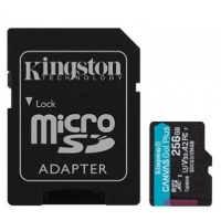 Карта памяти Kingston 256GB microSDXC class 10 UHS-I U3 A2 Canvas Go Plus (SDCG3/256GB)
