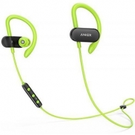 Наушники Anker SoundBuds Curve Black-Green (A3263HM1)