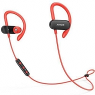 Наушники Anker SoundBuds Curve Black-Red (A3263HL1)