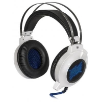 Наушники Defender Icefall G-510D White-Blue (64510)